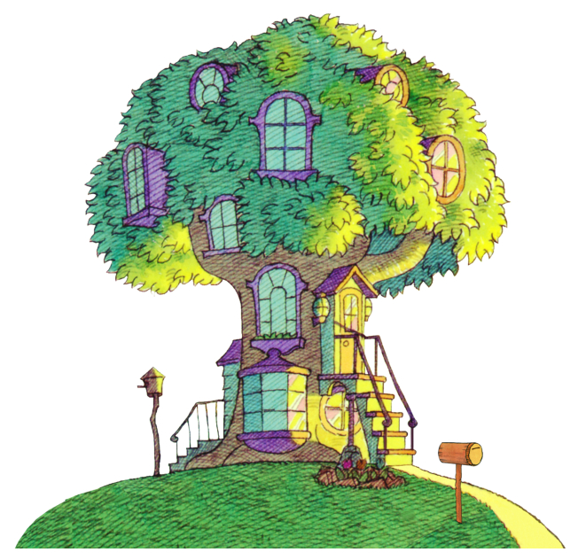 The Berenstain Treehouse